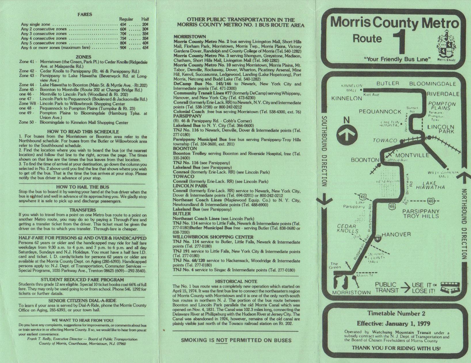 Morris County Metro - A Historical Look